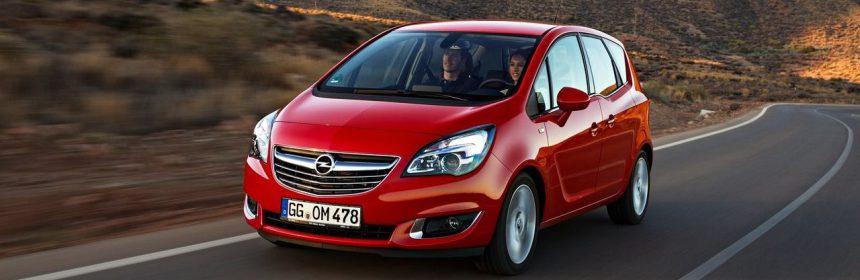 Opel Meriva 2017 напоминает гибрид кроссовера с минивэном